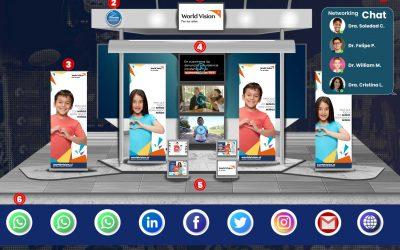 Exhibición Comercial para tus Eventos Virtuales